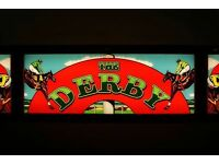 The Derby Fluorescent / Neon Light Retro Collectable