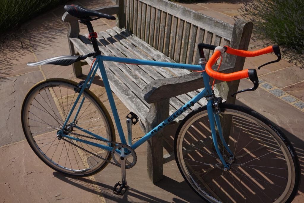 Ultra Lightweight Raleigh Single Speed Road Bike Bicycle