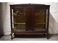 mahogany bookcase (DELIVERY AVAILABLE)