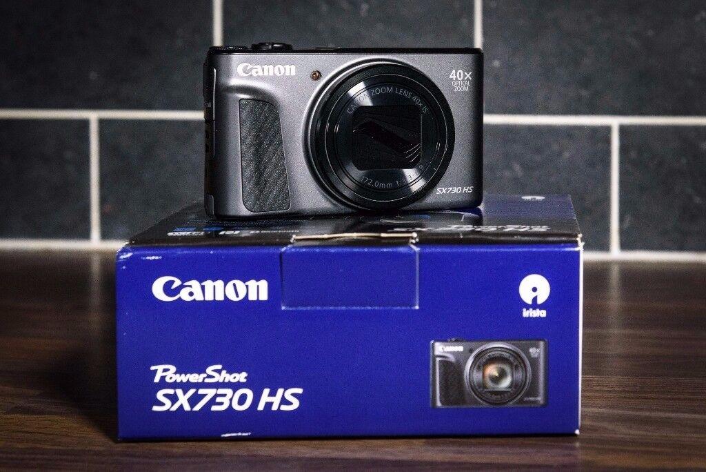 Brand New: Canon Powershot SX730 HS Compact Digital Camera 20.3mp 40x zoom