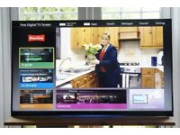 Panasonic viera UHD 4K ultra slim 3D led tv with built in webcam latest spec bargain