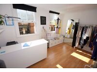 A light and bright commercial studio available for rent Shoredich, E2