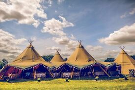 Tipis 4 Hire are recruiting crew members for the summer season