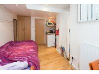 A single studio apartment located in the heart of Chalk Farm
