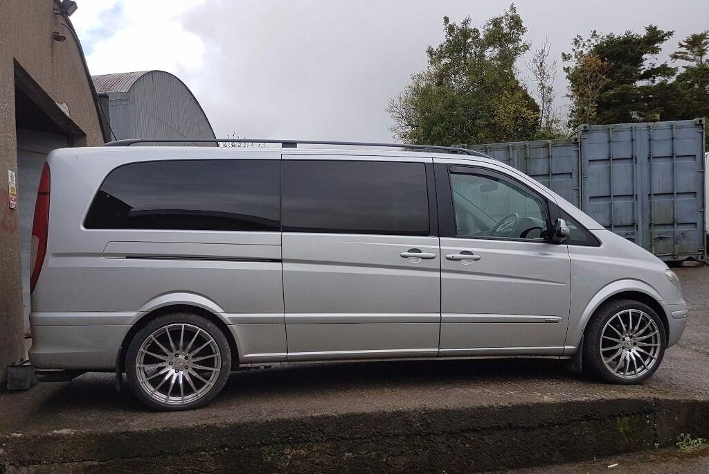 mercedes viano xl sport 3 0 v6 auto 8 seater vito bus in belfast city centre belfast gumtree. Black Bedroom Furniture Sets. Home Design Ideas