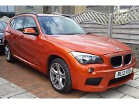 Low Mileage 2012 BMW X1 X-DRIVE 20D M-SPORT, 34,000 Miles, AWD, Leather, Alloys, New MOT & Serviced