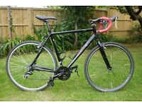 Revolution cross mens bicycle - great commuter, winter road, gravel or cross bike