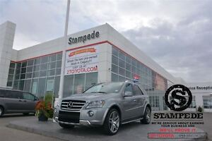 2011 Mercedes-Benz M-Class ML63 AMG 4MATIC w/Rear DVD