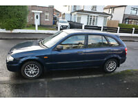 2000 Mazda 323 LX, 106k miles, MOT'd to end of May