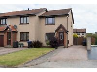 AM AND PM ARE PLEASED TO OFFER FOR LEASE THIS LOVELY 2 BED HOUSE-GORSE CIRCLE-PORTLETHEN-REF: P5338