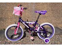 """Girls Bike (wheel 16"""")"""