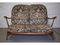 Ercol two seater sofa (DELIVERY AVAILABLE)