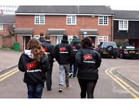 UK-Wide Door to Door Fundraiser - £252-306p/w + Uncapped Bonuses - Immediate Start