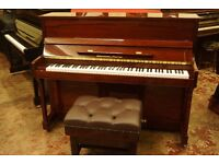Modern upright piano, Monington & Weston, Excellent condition - UK delivery available