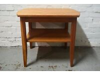 Danish side table (DELIVERY AVAILABLE)