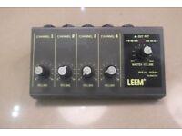Leem WAM-290 - 4CH MONO MICRO MIXER