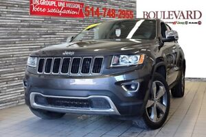 2015 Jeep GRAND CHEROKEE LIMITED TOIT HITCH 20''  UCCONECT 8.4