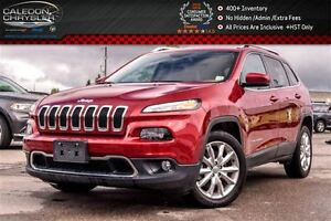 2016 Jeep Cherokee Limited Navi Backup Cam Bluetooth Leather R-S