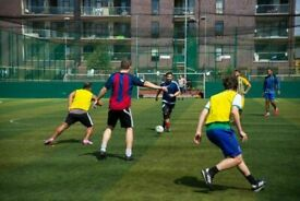 Football players wanted for midday games in London!