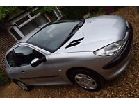 Peugeot 206 1.1 LX 3dr Ideal First Car