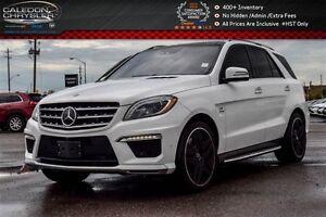 2015 Mercedes-Benz M-Class ML 63 AMG|AWD|Navi|Pano Sunroof|Blind