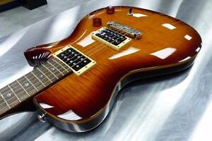 Guitare électrique PRS SE Singlecut Flame Top   #F015100