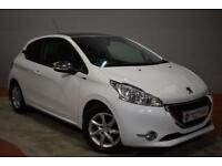 PEUGEOT 208 1.4 HDI STYLE 3d 70 BHP (white) 2015