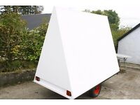 MOBILE BILLBOARD ADVERTISING TRAILER 8'X6'X4' FANTASTIC BUSINESS OPPORTUNITY IN HIRING OUT
