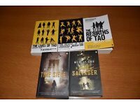 Read once almost new Wesley Chu books