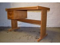 Desk With Two Drawers (DELIVERY AVAILABLE)