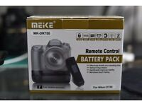 Nikon D750 Battery Grip - Meike MK-DR750 MB-D16 Built-In 2.4G Wireless control