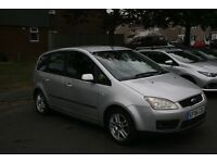 Ford Focus C-Max Zetec. Petrol. Manual. 63,000. One Years MOT. Air Conditioning. Electric Windows.