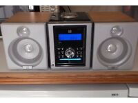 DUEL MICRO SYSTEM CD & DIGITAL AUDIO WITH REMOTE CONTROL
