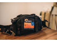 Lowepro Photo Runner DSLR Camera Photo Waist Packs Bag with All Weather Cover