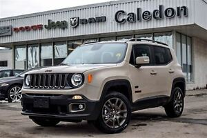 2016 Jeep Renegade NEW Car 75th Anniversary 4x4 Sunroof Backup C