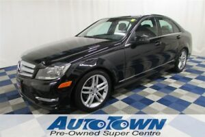 2013 Mercedes-Benz C-Class 250/ACCIDENT FREE/SUNROOF/LEATHER