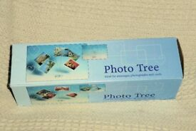 Photo Tree / Holder, Ideal for Photos, Messages & Cards, 10 Holders, Unused and with Box, Histon