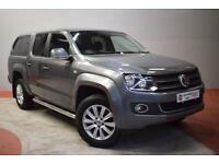 VOLKSWAGEN AMAROK 2.0 TDI HIGHLINE 4MOTION Leather Double Cab Pickup (grey) 2014