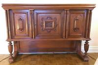 Living Room or Dining Room Solid Wood Cabinet