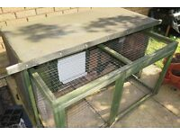Guinea Pig Hutch and Accessories