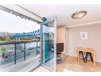 River View City Centre Studio Apartment with Balcony To Let - Short or Long Term