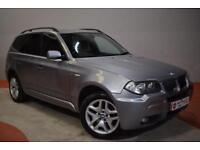 BMW X3 2.0 D M SPORT 5d 148 BHP (grey) 2007