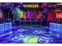 Photographer required for Tropicana Beach Club, Covent Garden £75-£90 / night
