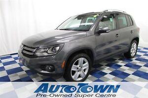 2012 Volkswagen Tiguan Comfortline/Sport - AWD/PANOROOF/LTHR/NO