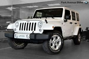 2015 Jeep WRANGLER UNLIMITED Sahara // CUIR BRUN + NAVIGATION