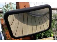 Rear baby mirror
