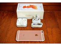 APPLE IPHONE 6S ROSE GOLD 16GB FOR SALE - ONLY 2 MONTHS OLD