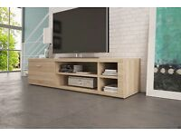BRAND NEW 1-3 days TV UNIT TV Cabinet TV Stand White / White-Black High Gloss / Sonoma Oak