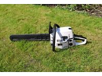 petrol chainsaw 2 stroke kraftech professional tool
