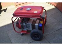 Honda generator 5.0hp 240 and 110 v gx140
